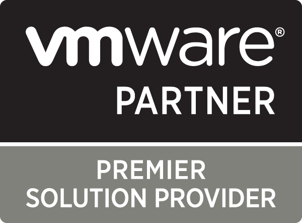 VMware Premier Solution Provider BW PNG